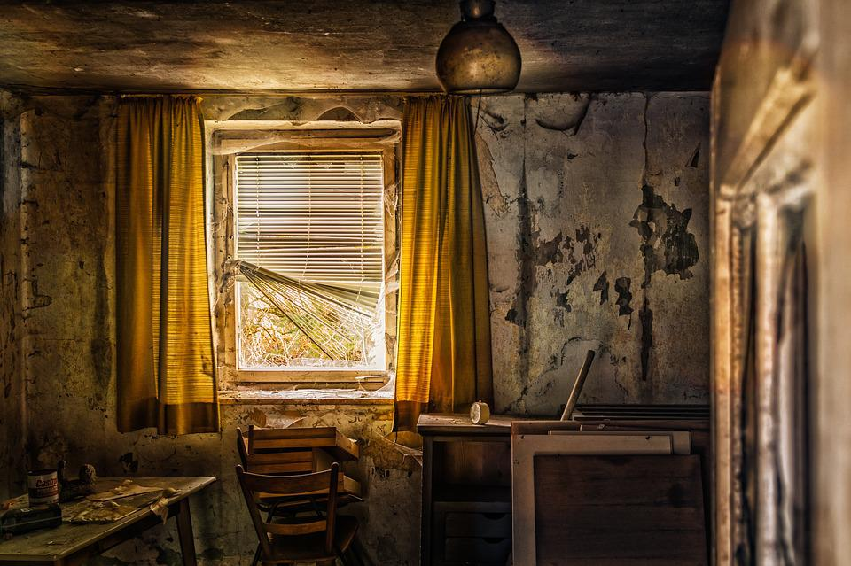 Free photo Room Living Room Old Abandoned Place Lost ...