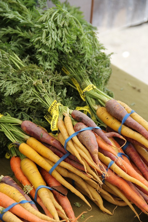 Carrots, Veggies, Vegetables, Root, Food, Ripe, Healthy