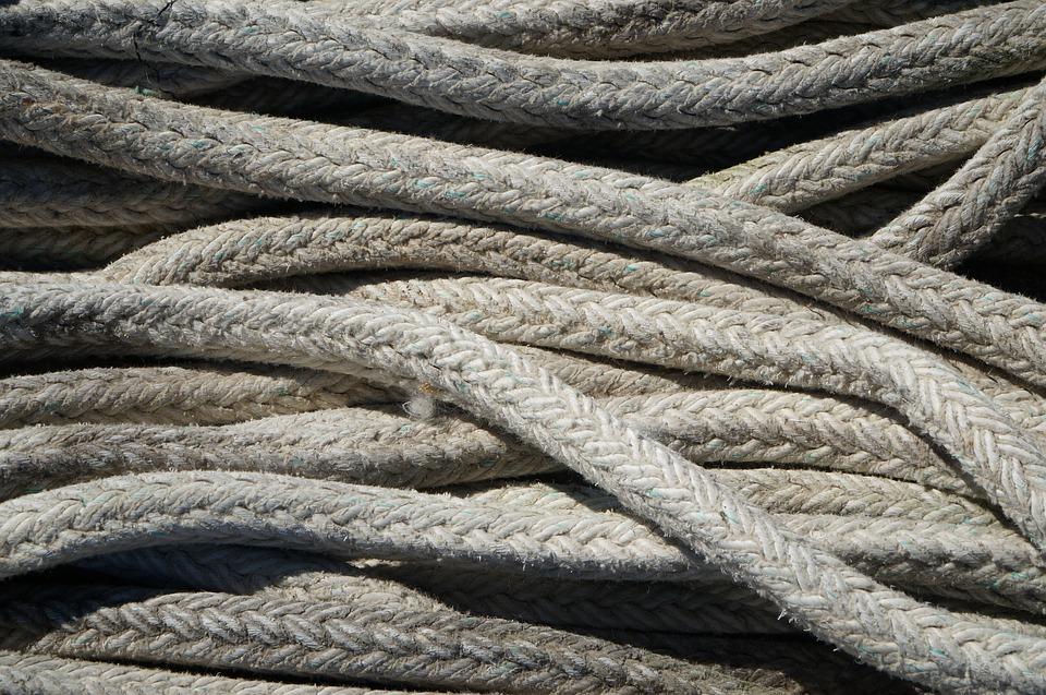 Free photo Rope Cord Lines White Marine Cable Nautical Sea