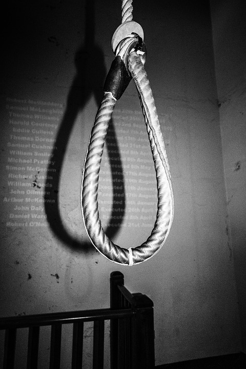 Noose, Hangman, Rope, Gallows, Crime, Criminal, Knot