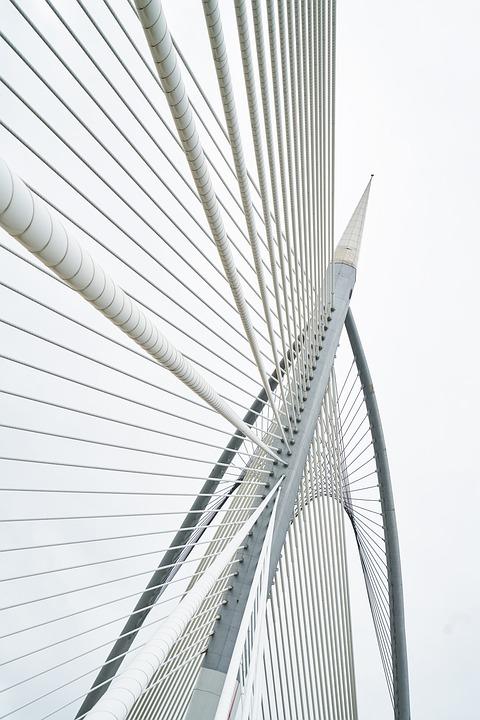 Free photo Rope Great Background Architecture Steel Bridge - Max Pixel