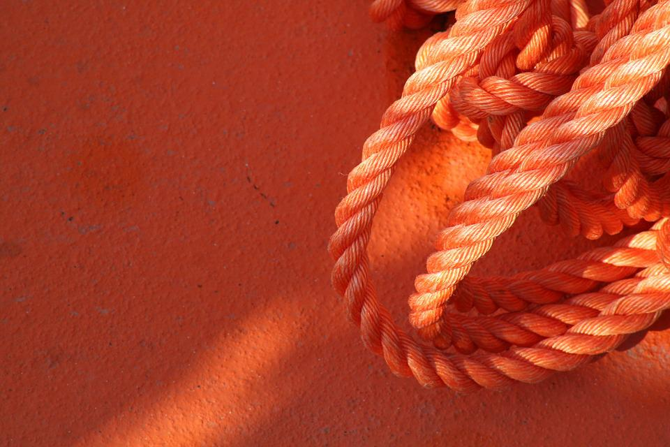 Rope, Boat, Color, Italy