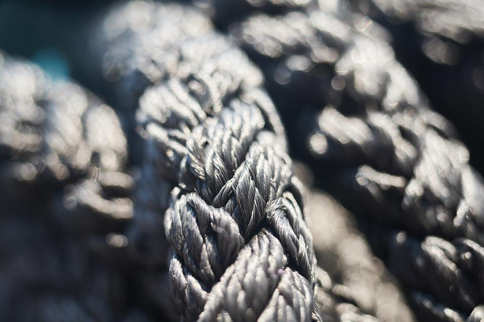 Rope, Node, Connect, Weaving, Marine, Knitting, Link
