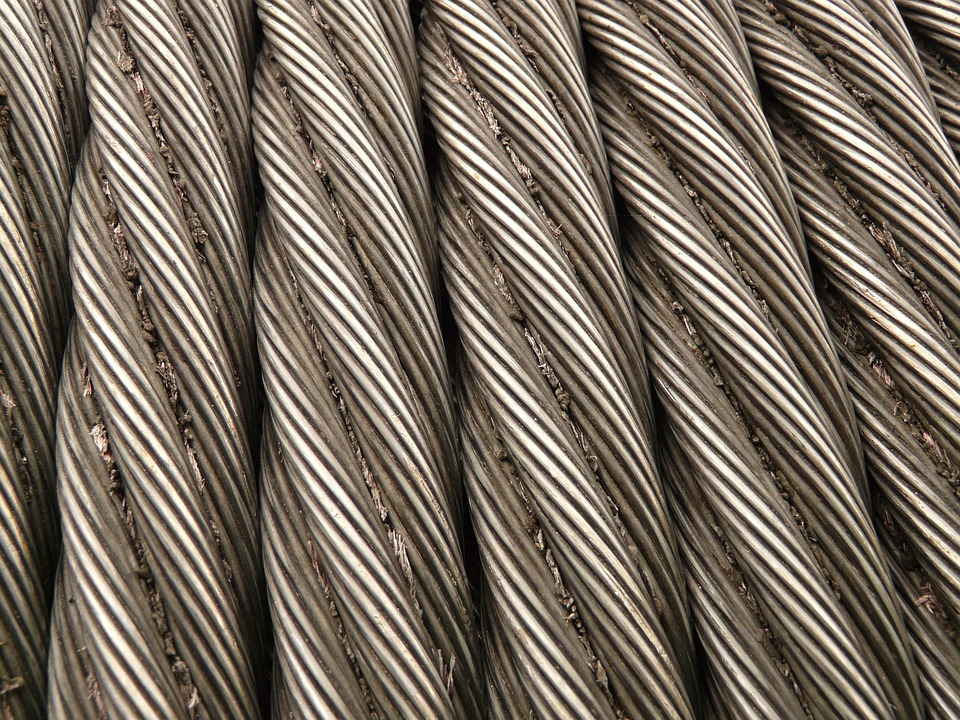 Steel Cable, Rope, Metal, Seilwindung, Iron