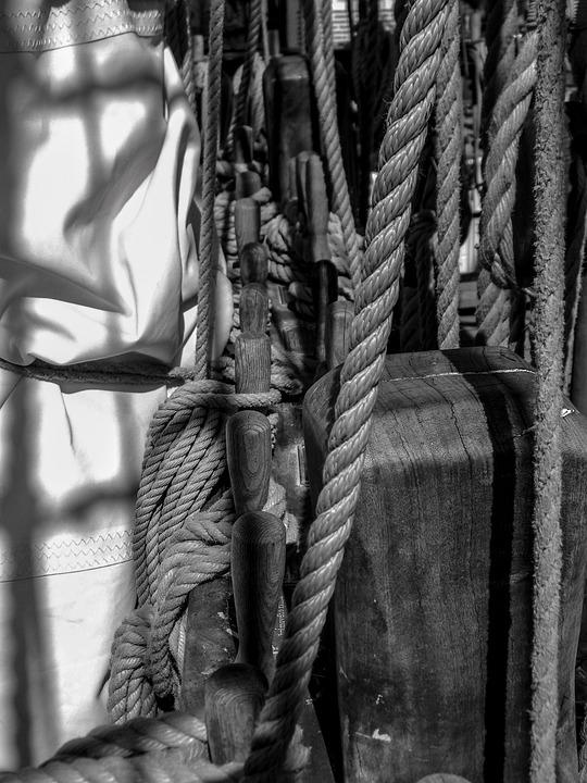Rigging, Rope, Sails