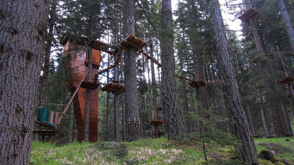 Ropes Course, Course Images, Italy, Adventure Park