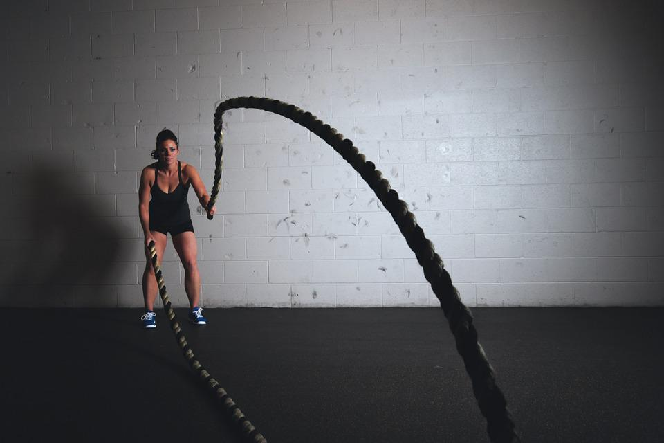 Training, Ropes, Workout, Fitness, Exercise, Sport, Gym