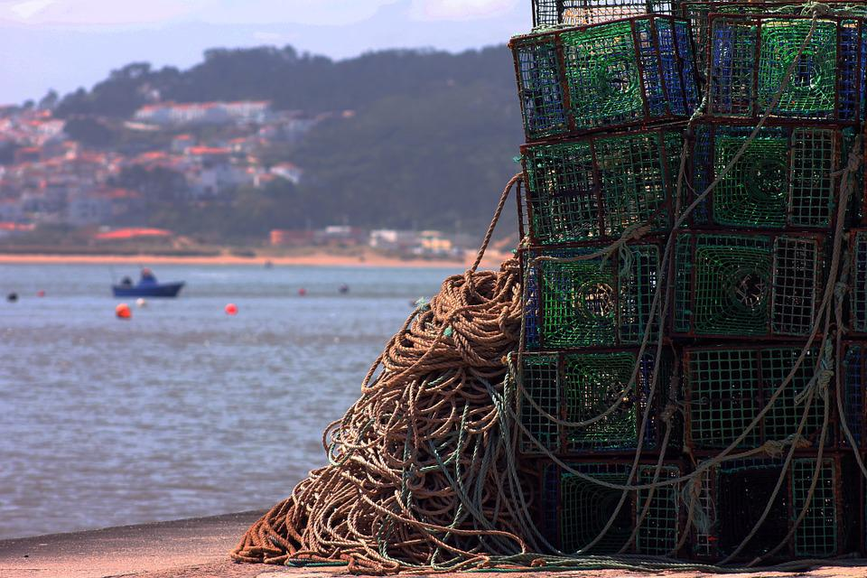 Ropes, Mar, Fishing, Cages