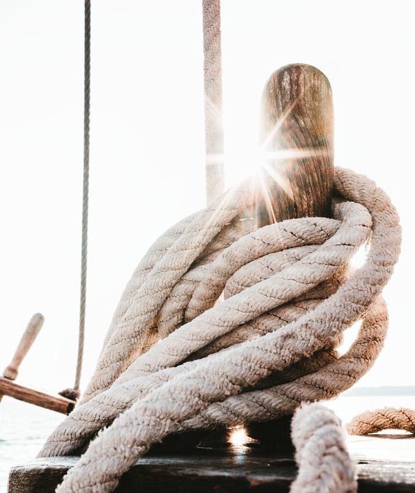 Sailing Vessel, Ropes, Ship, Boat, Sailing Boat