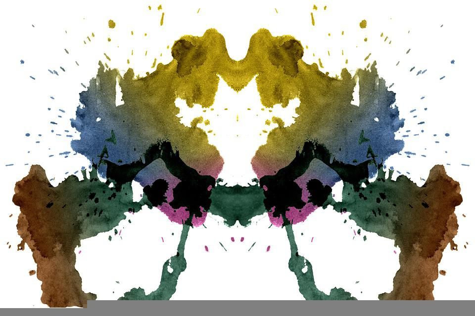 Rorschach, Test, Ink, Silhouette, Summary, Psychology