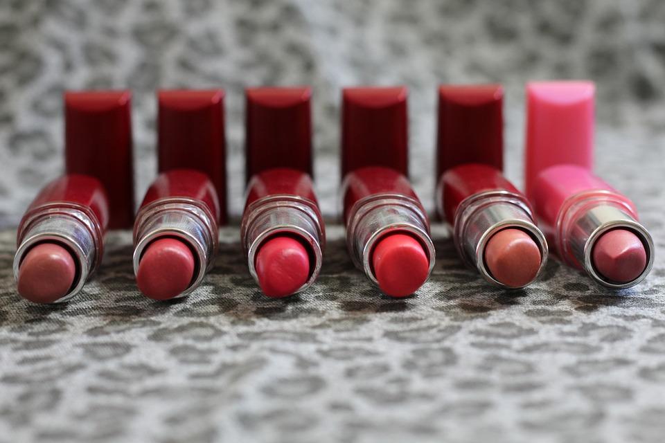 Lipstick, Rosa, Mouth, Labios, Colorful, Makeup, Woman