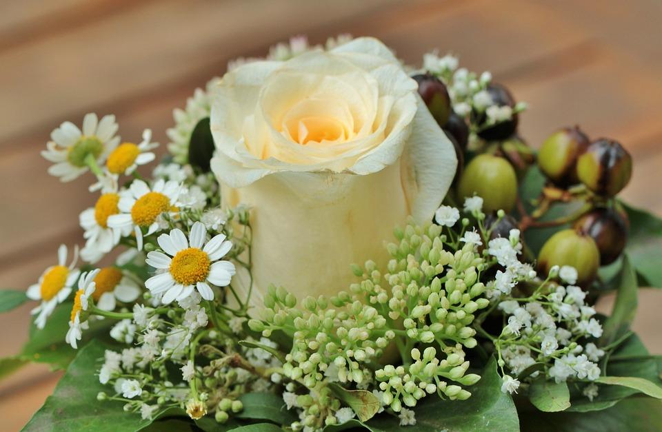 Floral Arrangement, Rose, Bouquet Of Flowers, Flowers