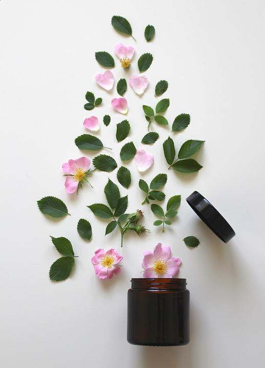 Natural Cosmetics, Pink, Rose, Cosmetics, Beauty, Close