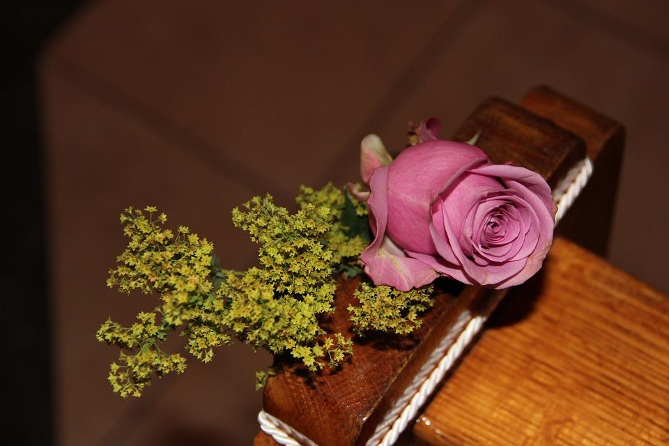 Decoration, Church, Rose