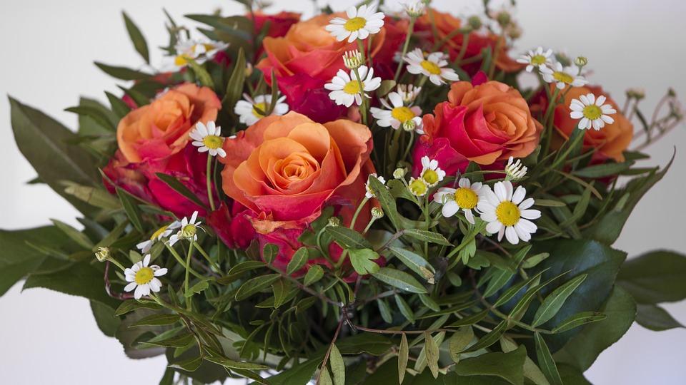 Flower, Bouquet, Floral, Plant, Nature, Rose
