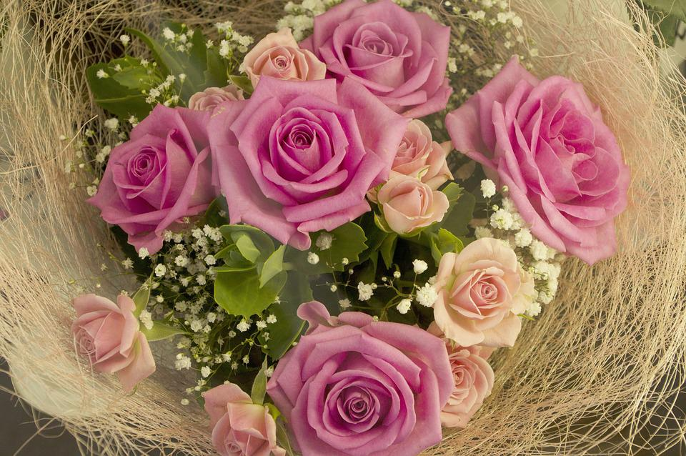 Free photo Rose Flower Wedding Bouquet Wedding Flowers Love - Max Pixel