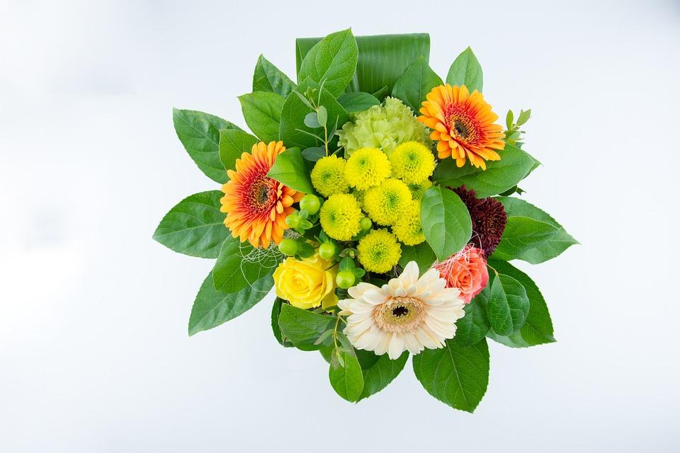 Bouquet, Rose, Flowers, Bouquet Of Flowers, Cut Flowers