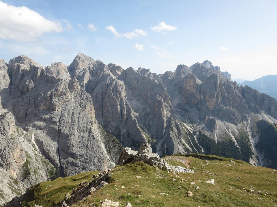 Mountain, Rose Garden, Dolomites