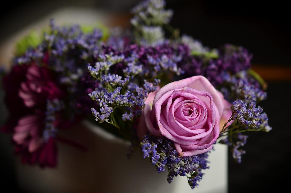 Flowers, Rose, Bouquet, Pink Rose, Floral Arrangement