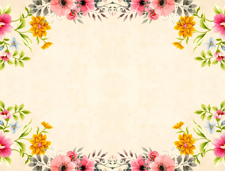 Roses Bouquet Flower Vintage Floral Background 3214833