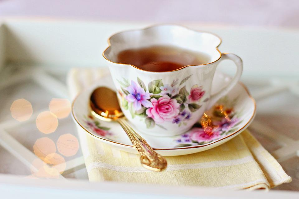 Tea Cup, Vintage Tea Cup, Tea, Coffee, Flowers, Roses