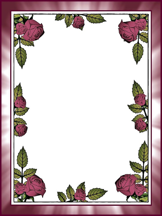 Roses, Postcard, Stationery, Message, Greeting Card