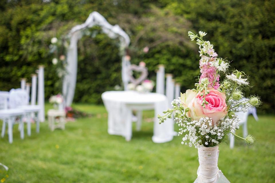 Wedding, Flowers, Roses, Bouquet, Romantic, Love