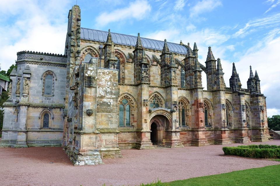 United Kingdom, Scotland, Roslin, Rosslyn Chapel