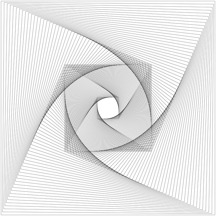 Rotation, Rotated, Spiral, Swirl, Background, Line