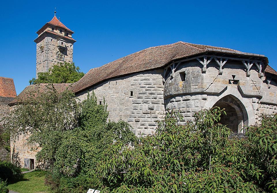 Rothenburg Of The Deaf, Hospital Bastei, Fortress