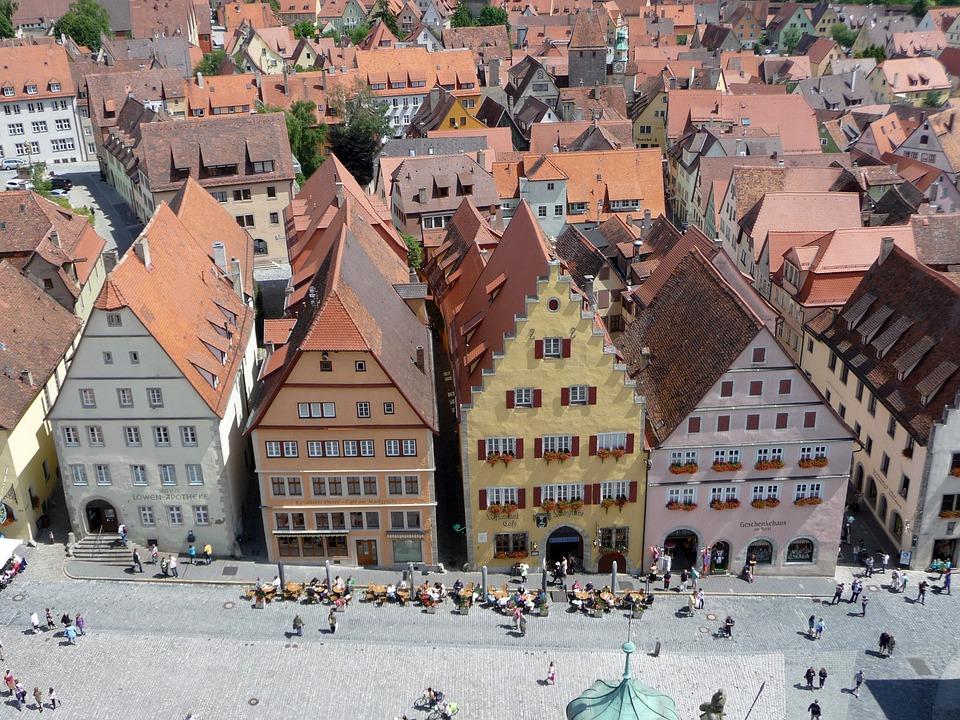 Rothenburg, Tauber, Marketplace, Tourism, Historically