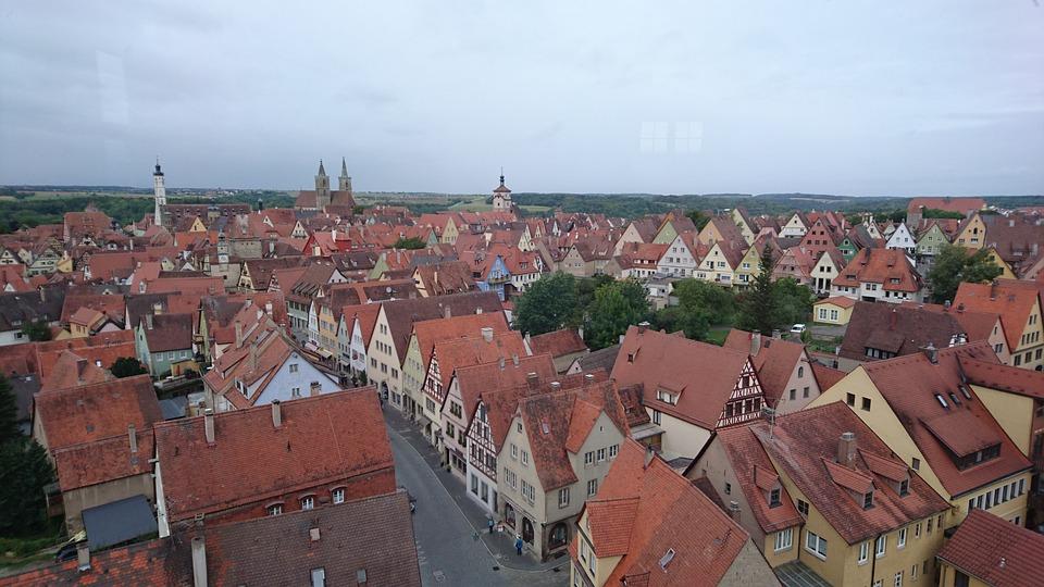 Rothenburg Tauber, Rothenburg, Old Town, Architecture