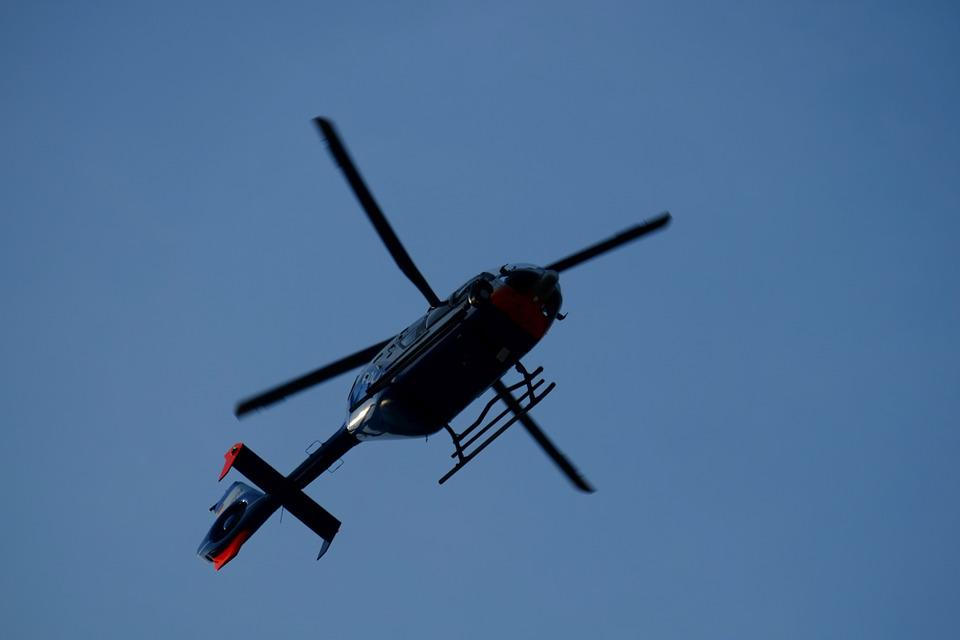 Helicopter, Rotor, Rotor Blades, Flight, Control