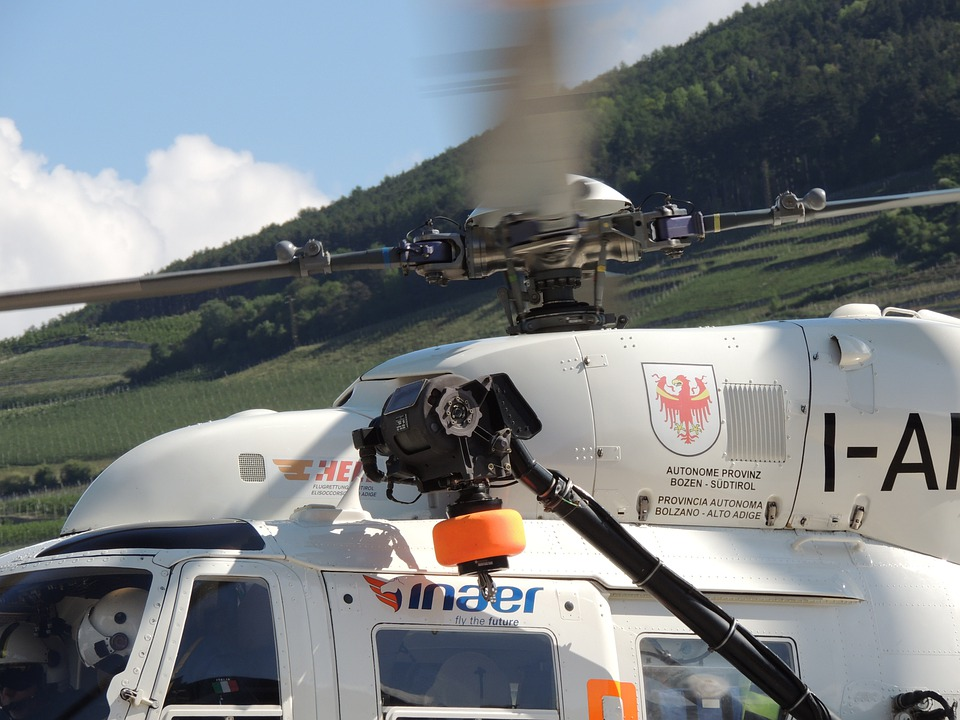 Rotor, Helicopter, Fly, Rescue