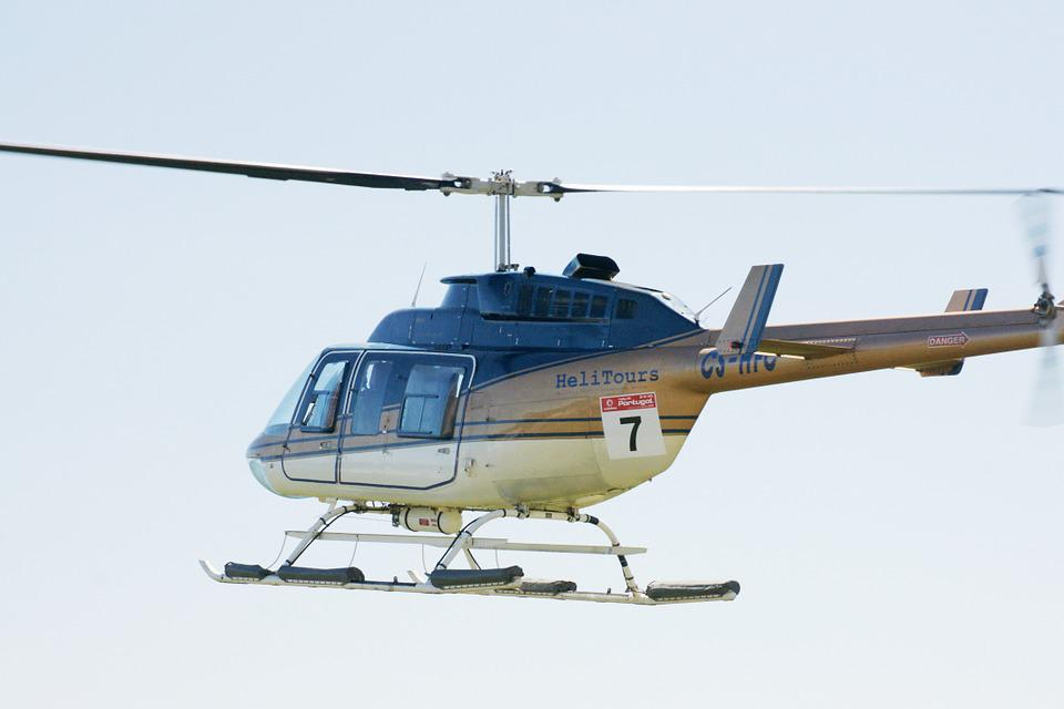 Helicopter, Security, Flight, Rotors
