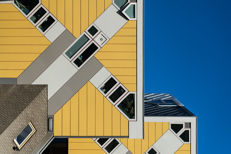 Rotterdam, Cube Houses, Cubehouses, Architecture
