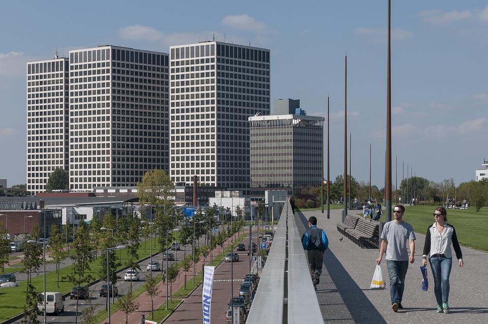 Rotterdam, Euro Point, Roofpark, City Park