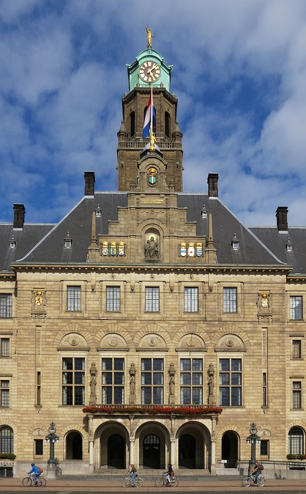 Netherlands, Rotterdam, The Town Hall
