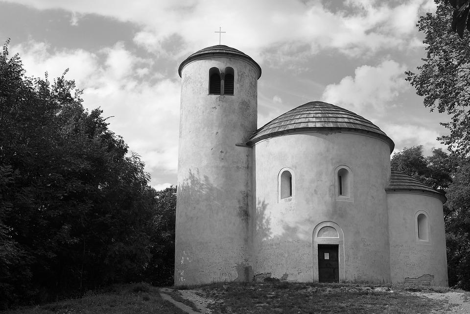 Rip, Rotunda, Wallpaper, Church, Romanesque Rotunda