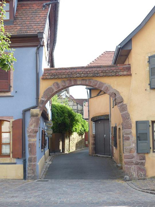 Rouffach, Goal, Arch, Alsace