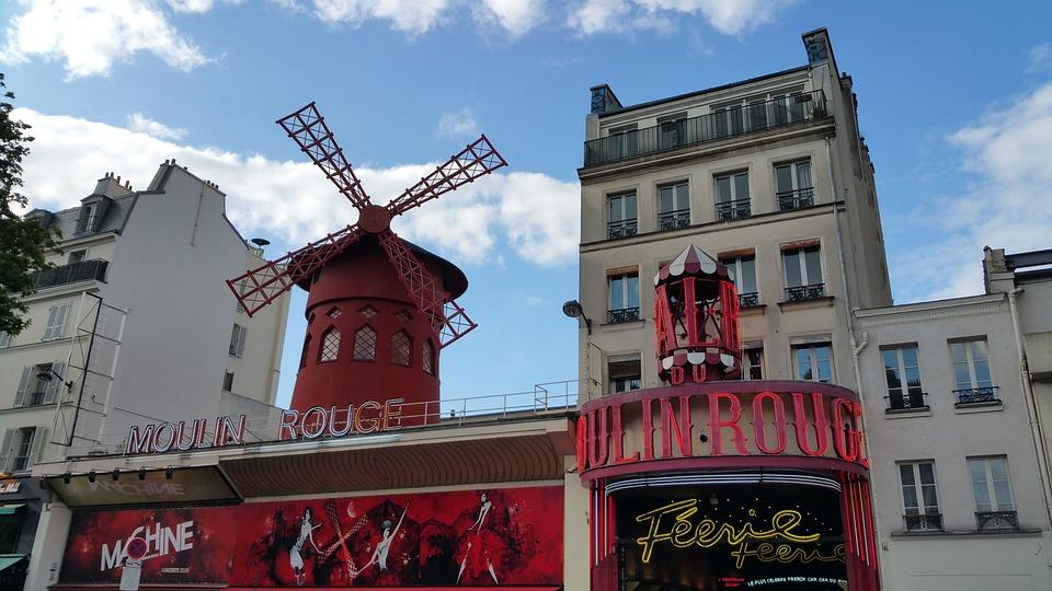 Moulin Rouge, Paris, Rouge, Moulin, Montmartre