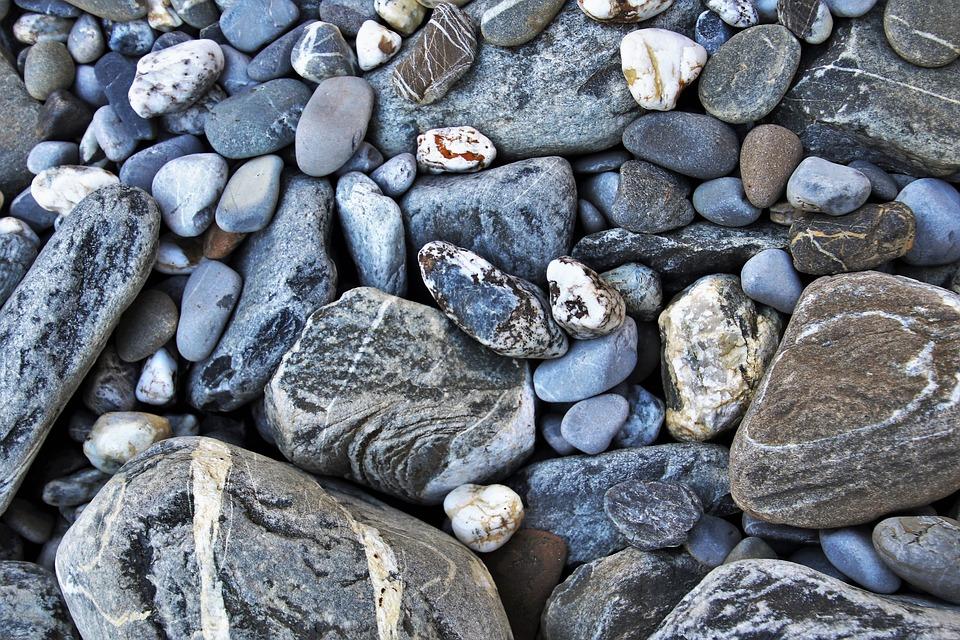 The Stones, Gray, Rough, Shape, Granite