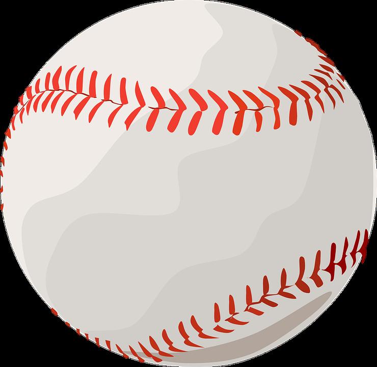 Baseball, Ball, Sport, Round, Sewed, Stitches