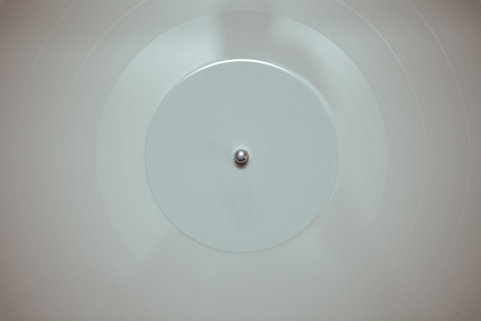 Disc, Round, Concentric, Center, Circle, Ceiling, White