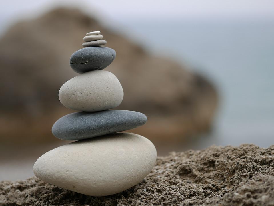 Pebbles, Sea, Stones, Fresh, Smooth, Beautiful, Round