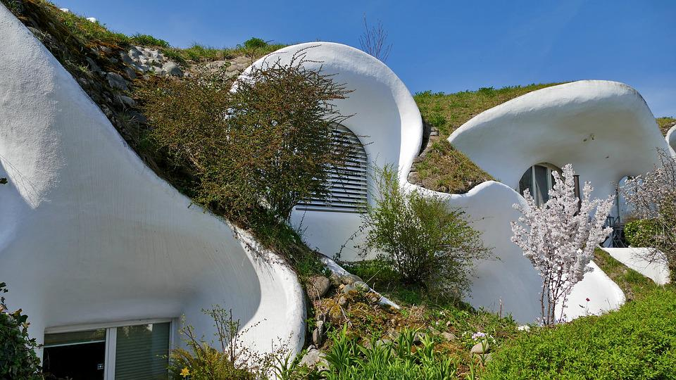 Free Photo Round Shape House Live Grass Architecture Max Pixel