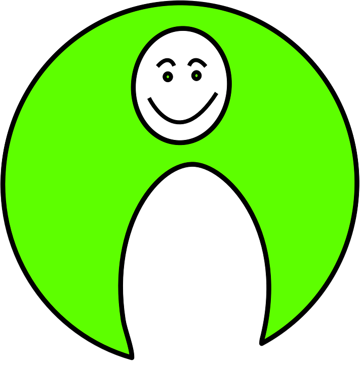 Face, Round, Crescent, Smiley, Smiling, Mood, Smile