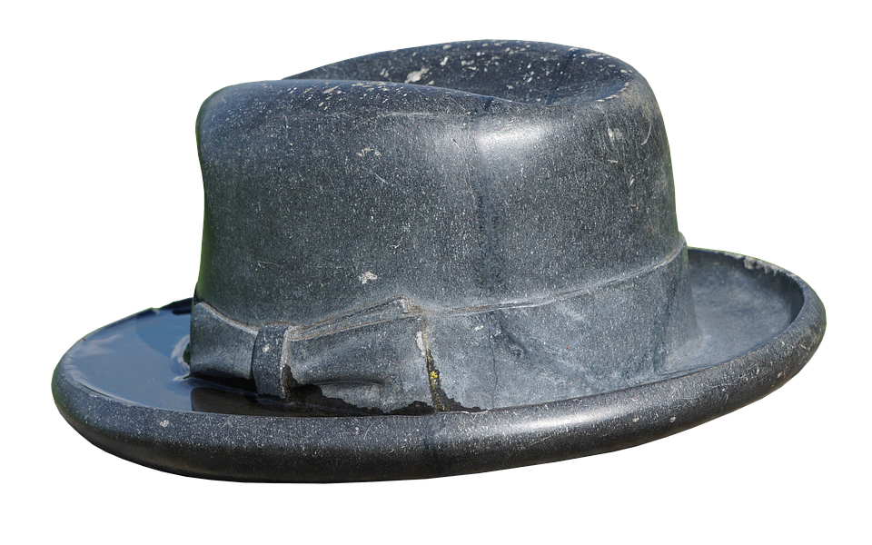 Hat, Brim, Stone, Headwear, Hutkrempe, Old Hat, Round