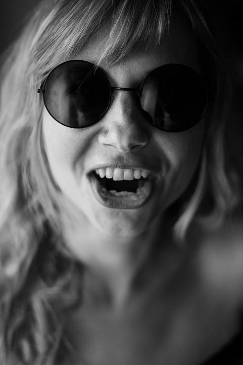 Cry, Round Sunglasses, Bibikov, Portrait, Krupnyj Plan