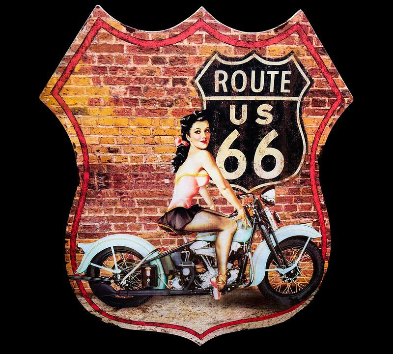 Travel, Adventure, Offroad, Route 66, 66, America